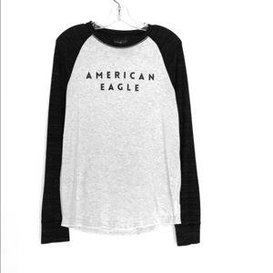 American Eagle long sleeve shirt size small
